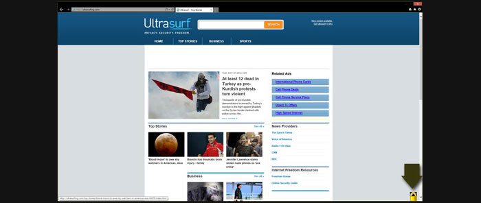 ultrasurf ie